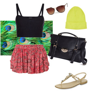Outfit coloursplash♥ von Hannah Maral