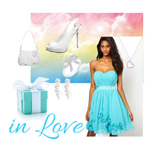 Outfit IN LOVE von Alisa Lillifee