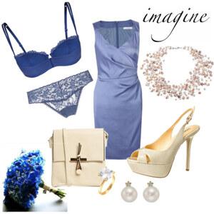 Outfit Imagine you were a bridesmaid.... von j.c.s.478