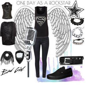 Outfit Like a Rockstar von anja.smilyface