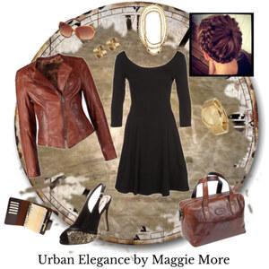 Outfit Urban Elegance von Maggie More