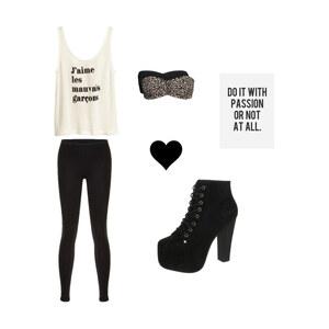 Outfit Les mauvais garcons ! von Julie Marie