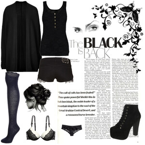 Outfit The black is back von anja.smilyface