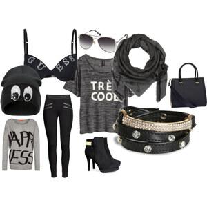 Outfit black von Jessica Blenke