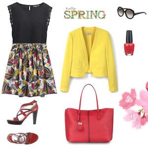 Outfit Frühlingsoutfit von Nora
