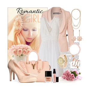 Outfit romantic von Justine