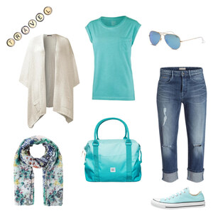 Outfit Travelling von Nora