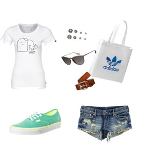 Outfit Tea shirt von jule2_5