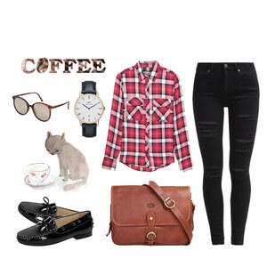 Outfit Kaffeehaus von Krista - Fashion Blogger Domodi