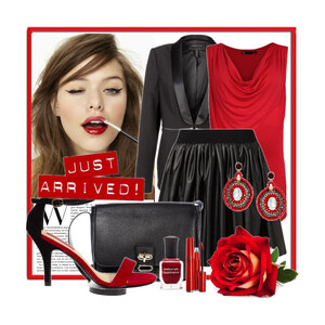 Outfit Red Passion von Justine