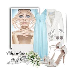 Outfit Blue White! von Justine