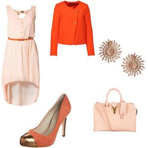 Outfit orange von mariam-abu-daher