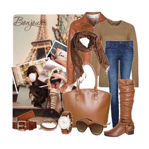 Outfit Brown Style von Justine