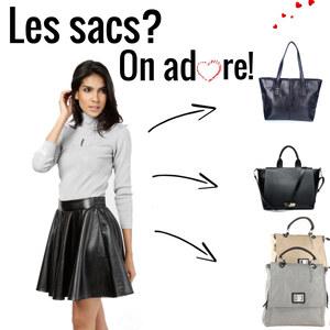 Tenue Les sacs? On adore! sur Lesara