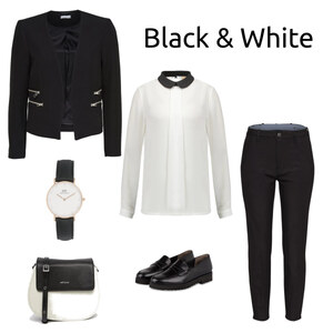 Outfit Black and White von Ele - Fashion Addict