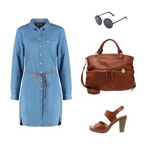 Outfit Jeanskleid von Ele - Fashion Addict