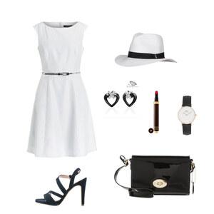 Outfit Kleid von Krista - Fashion Blogger Domodi