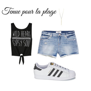 Tenue Summer trip sur Chloé Chillet