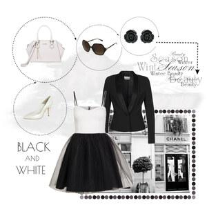 Outfit BLACK AND WHITE von Markéta