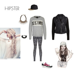 Outfit Hipster von HD