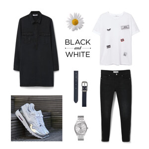 Tenue Black and White  sur footshopfr