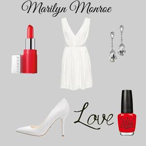 Outfit marilyn monroe von Sharina D