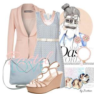 Outfit Pastel Love von Justine