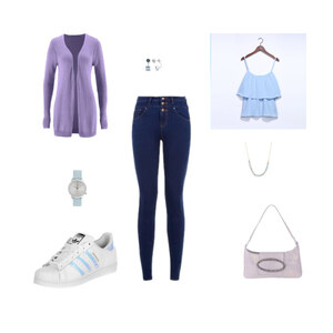 Outfit Holographic von franzi2408