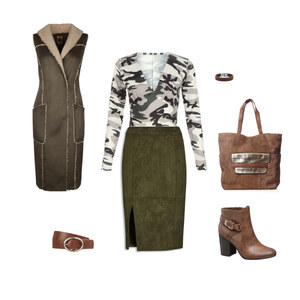 Outfit Army Girl von franzi2408
