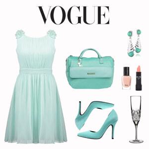 Tenue Vogue - tenue vert menthe sur Mathilde Vaddé - Rédactrice Mode Glami