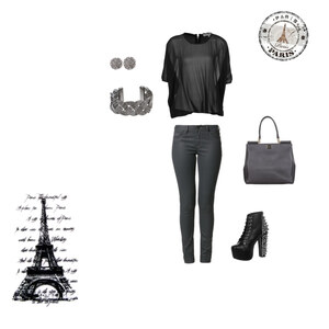 Outfit  a Day in Paris von Lis styles