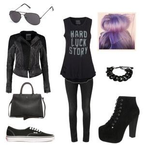 Outfit BLACK ROCK! von lookfurther