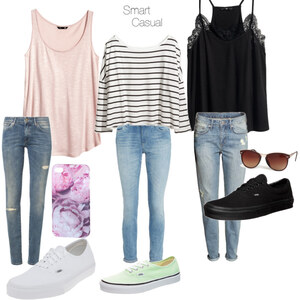 Outfit Vans off the Wall - smart a. casual von mila_na