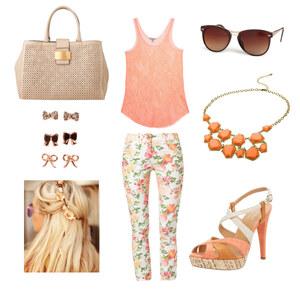 Outfit Blumenlook von Sandzak2000