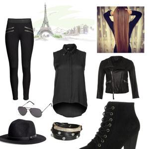 Outfit Ein tag in paris von Notenherz