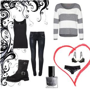 Outfit Grey von anja.smilyface