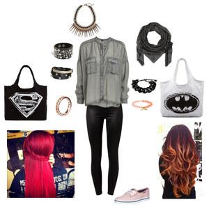 Outfit Superman/Batman von HD