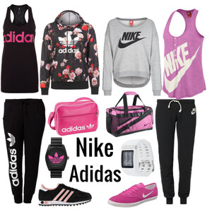 Outfit Adidas vs. Nike von Sandzak2000