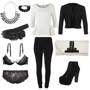 Outfit Black and White von Sandzak2000