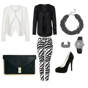Outfit Black & White von La Boska