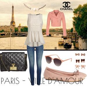 Outfit Paris- ville d'amour  von Laura