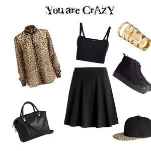 Outfit Leo-Look von Madeleine Mootz