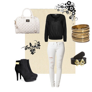 Outfit Black and white von KaRinA