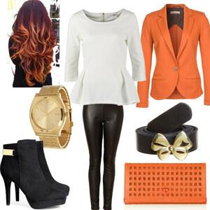 Outfit Orange Day <3 von Nisa