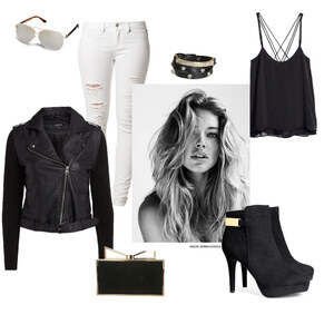 Outfit black and white von Lea-Franziska Wanner