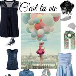 Outfit C'est la vie von Lea Helen