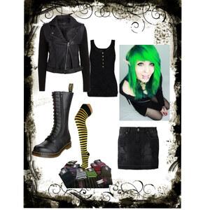 Outfit Punk von anja.smilyface