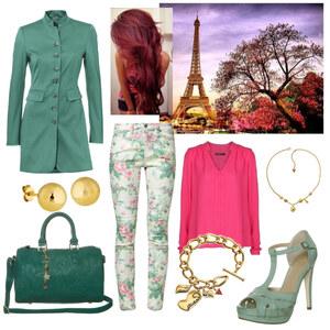 Outfit Grünlove von A.N.N.A