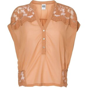 Vero Moda Woven Laced Short sleeved blouse