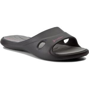 de18f544653f Papucs RIDER - Slide Feet VII Fem 81907 Black/Grey 23404 - Glami.hu